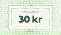 Värdecheck 30 kr