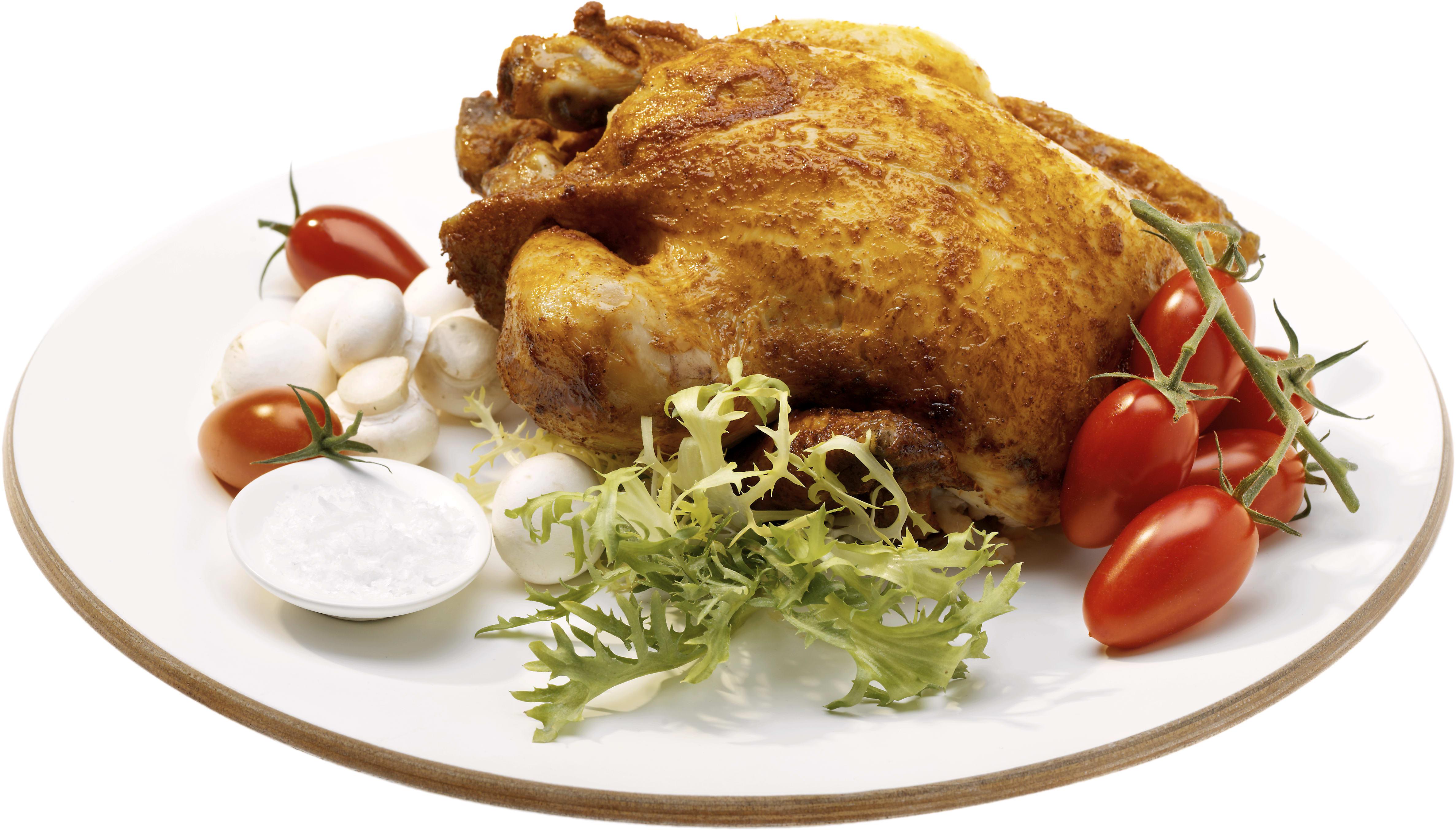 vad väger en grillad kyckling