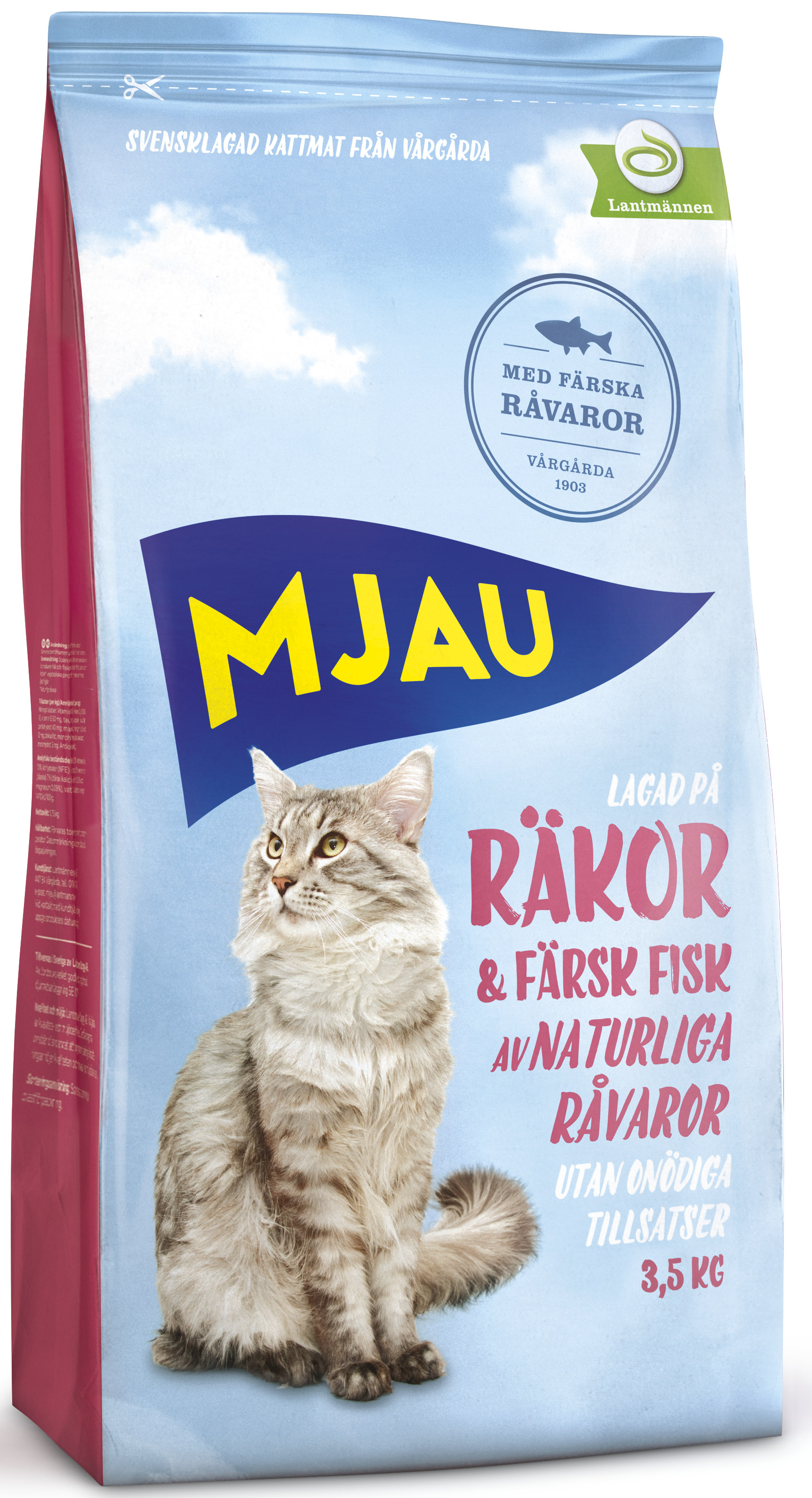 mjau torrfoder kattunge