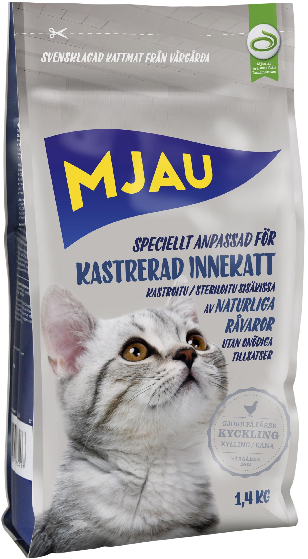 kattmat torrfoder utan spannmål