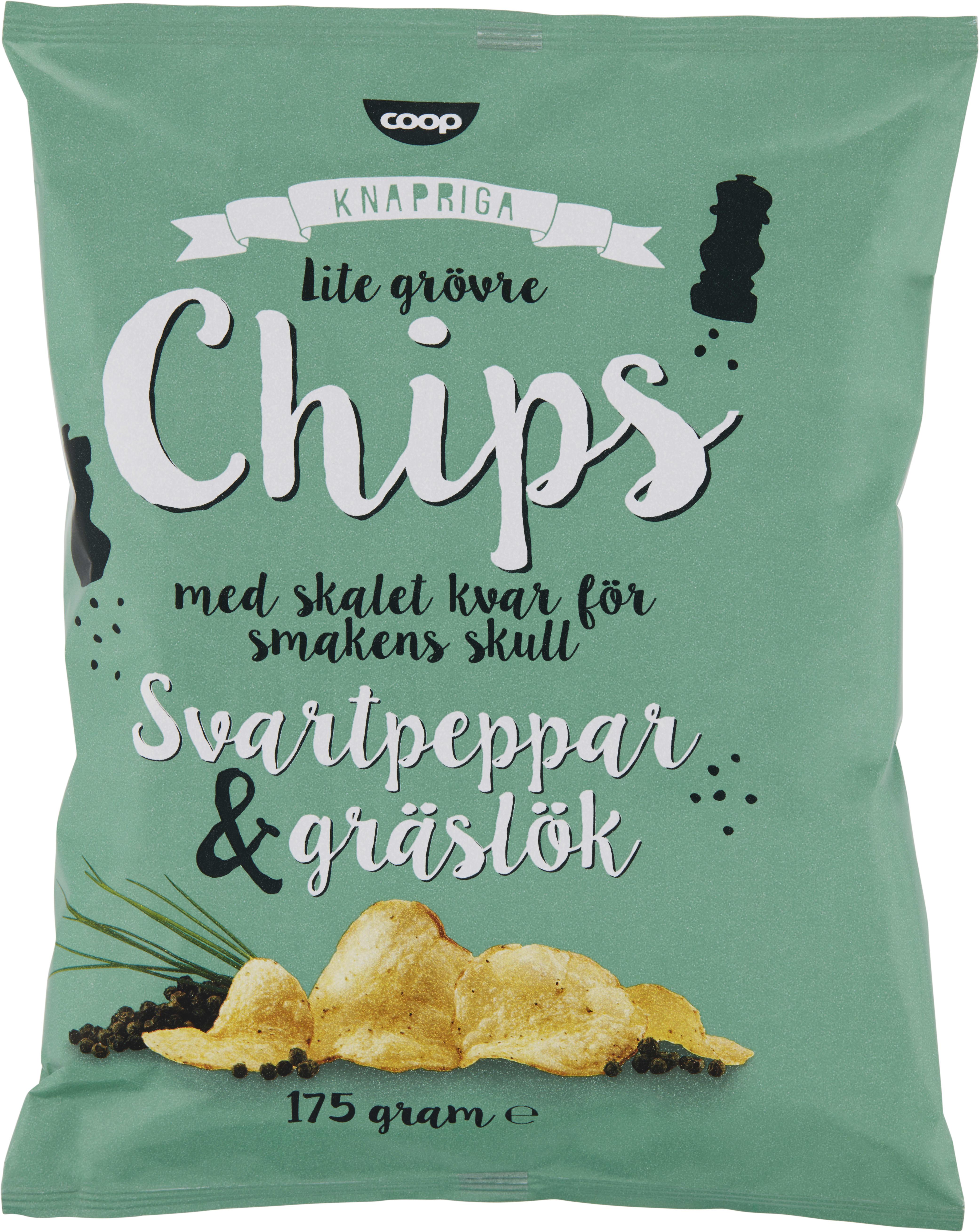 vad kostar en chipspåse