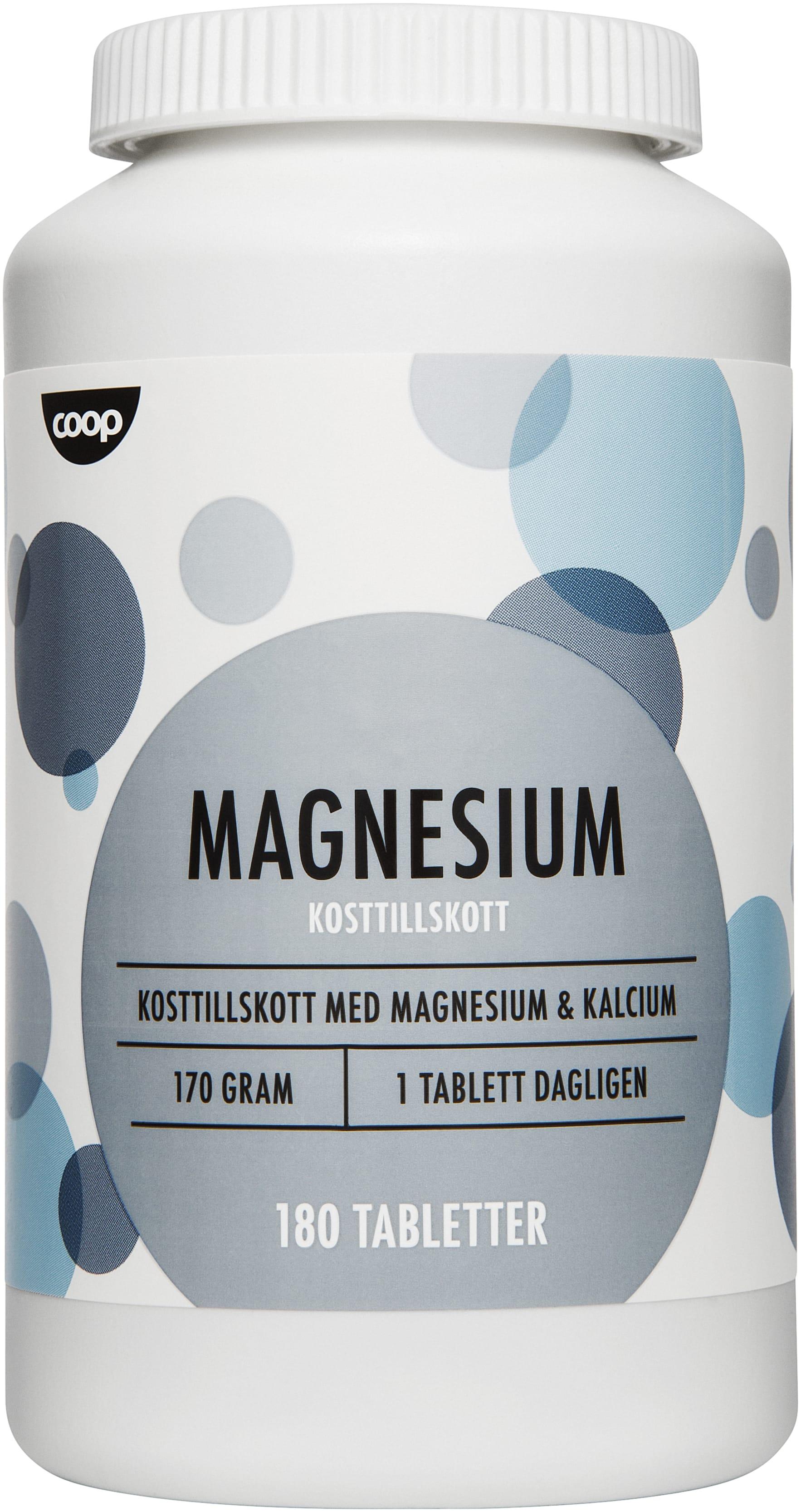 magnesium kosttillskott bra för