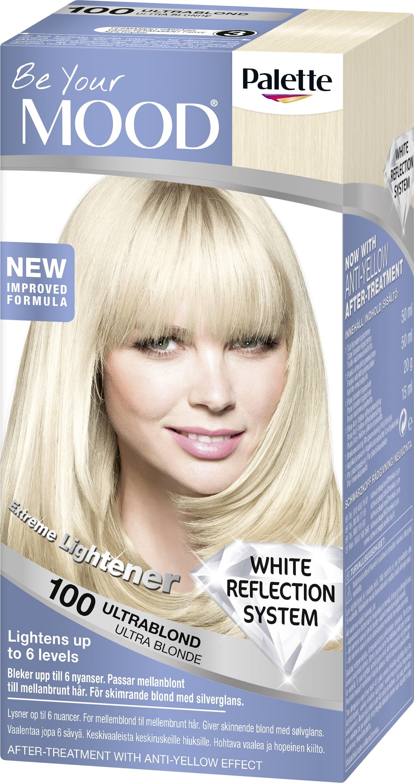 blekning för mörkt hår