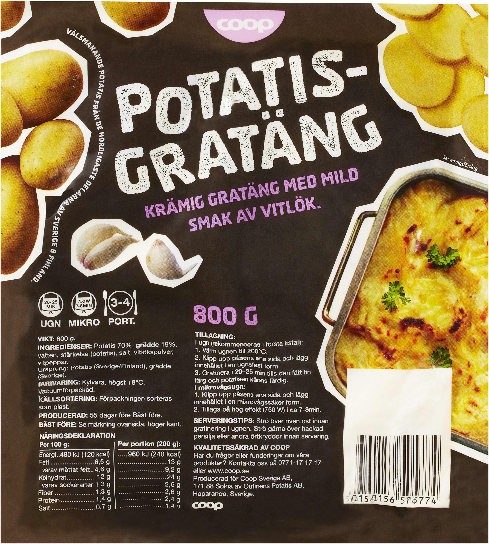 laktosfri potatisgratäng peka