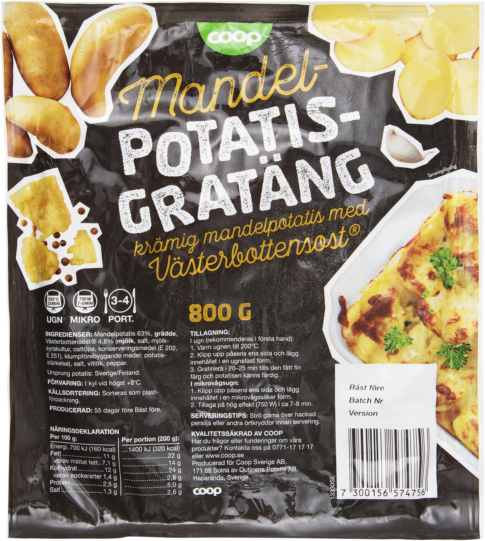 peka potatisgratäng portioner