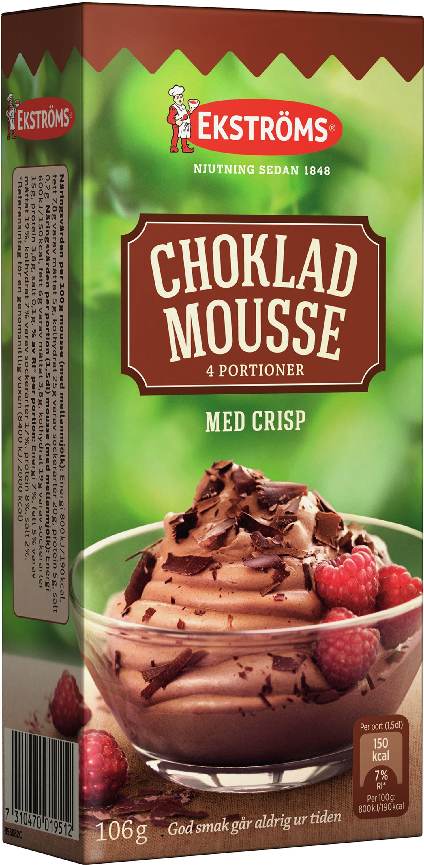ekströms chokladpudding hur mycket mjölk