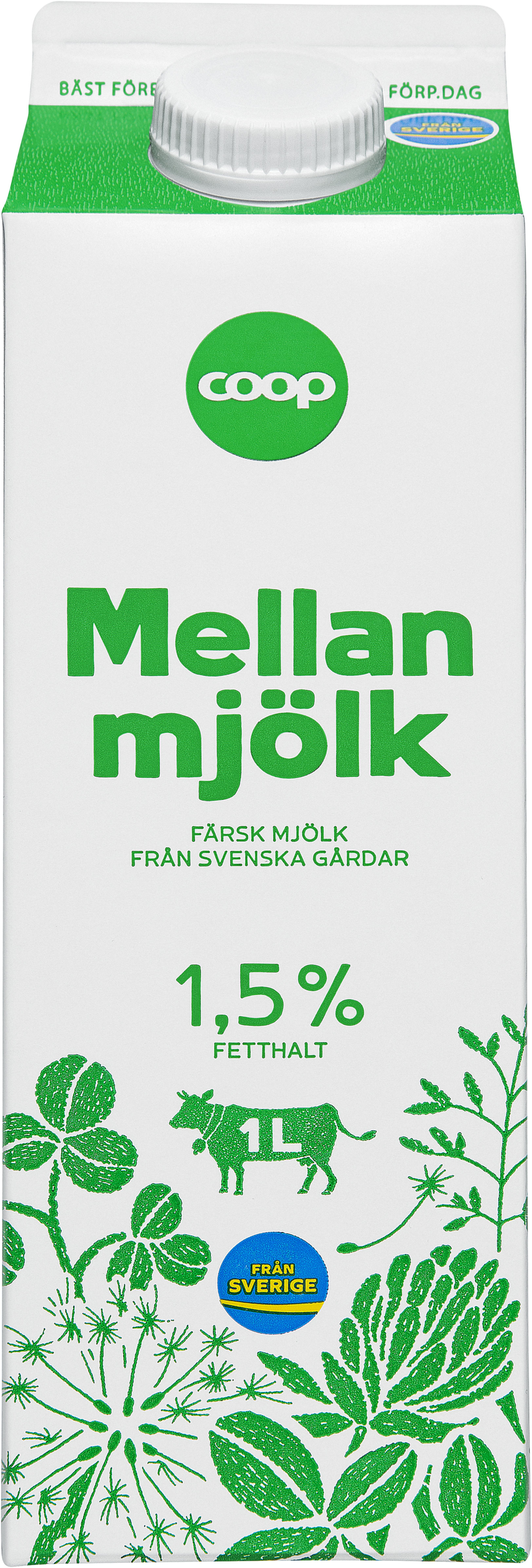 1 liter mjölk kostar 2016