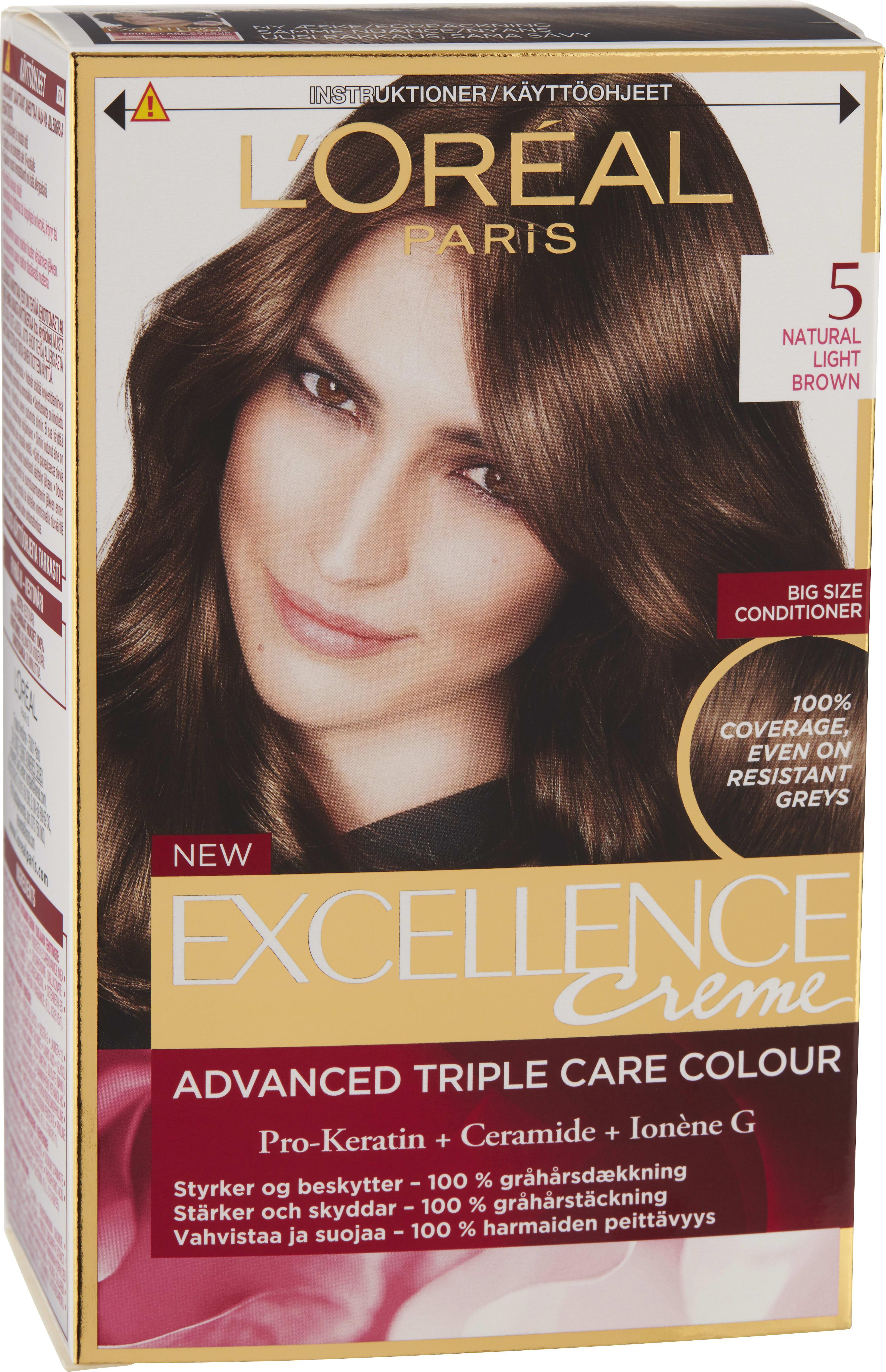 loreal hårfärg askblond
