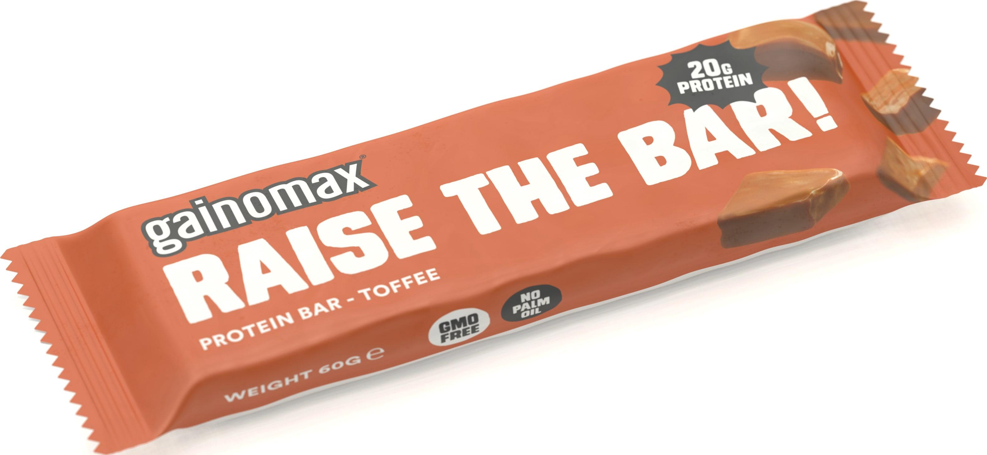 gainomax protein bar pris