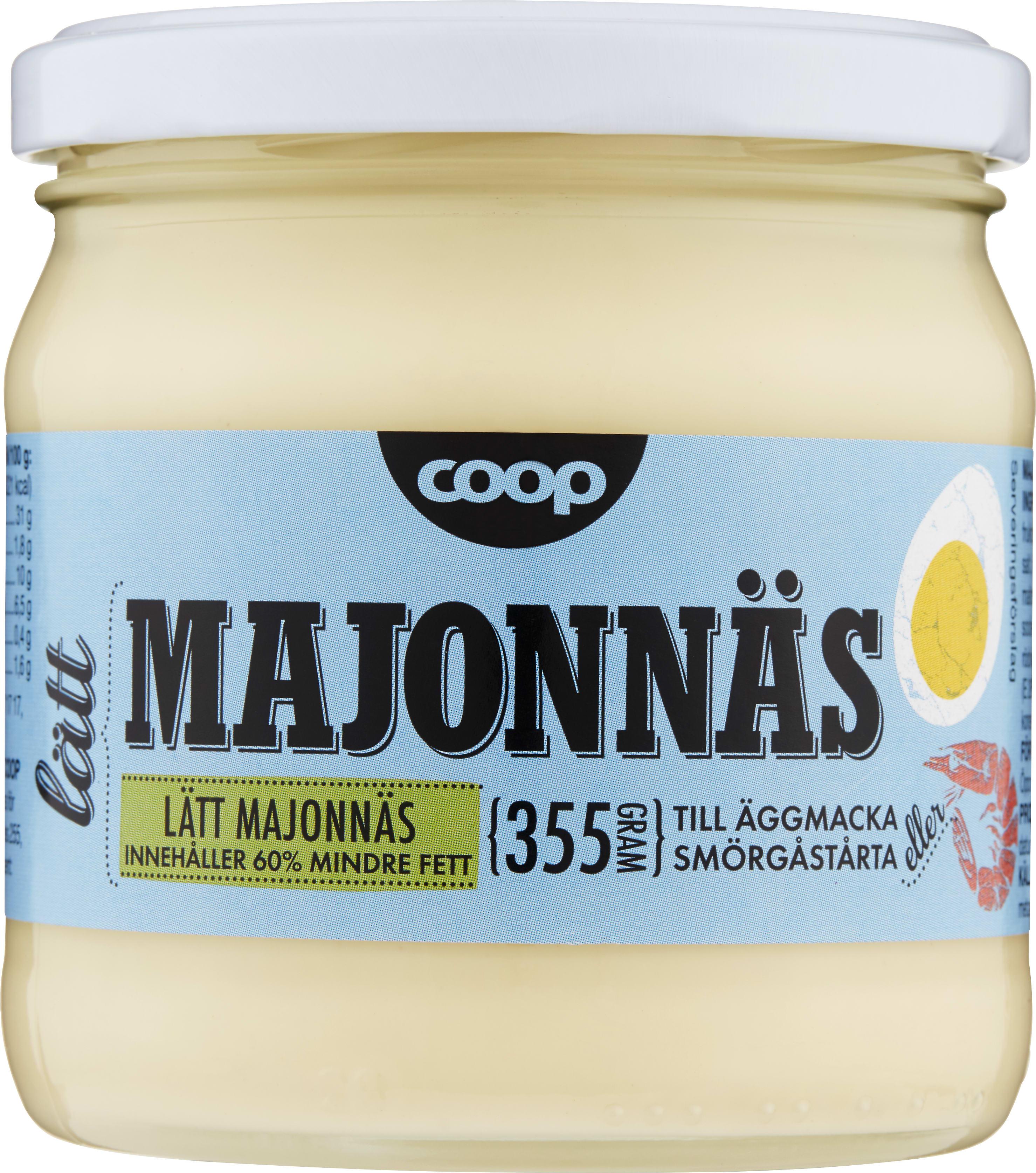 vegansk majonnäs coop