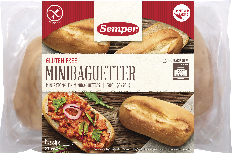 glutenfri baguette semper