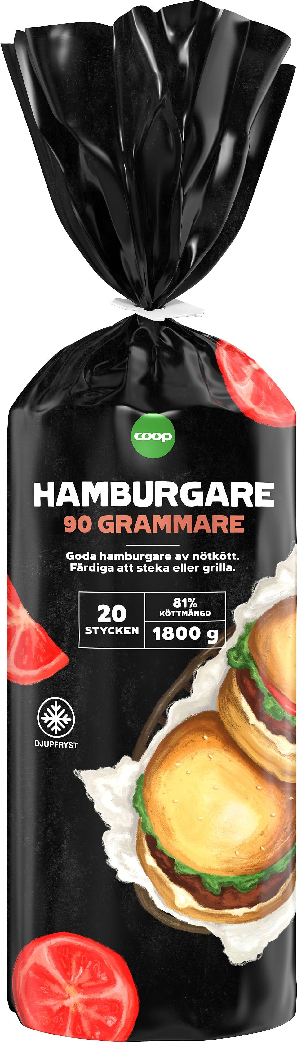 hamburgare 20 pack