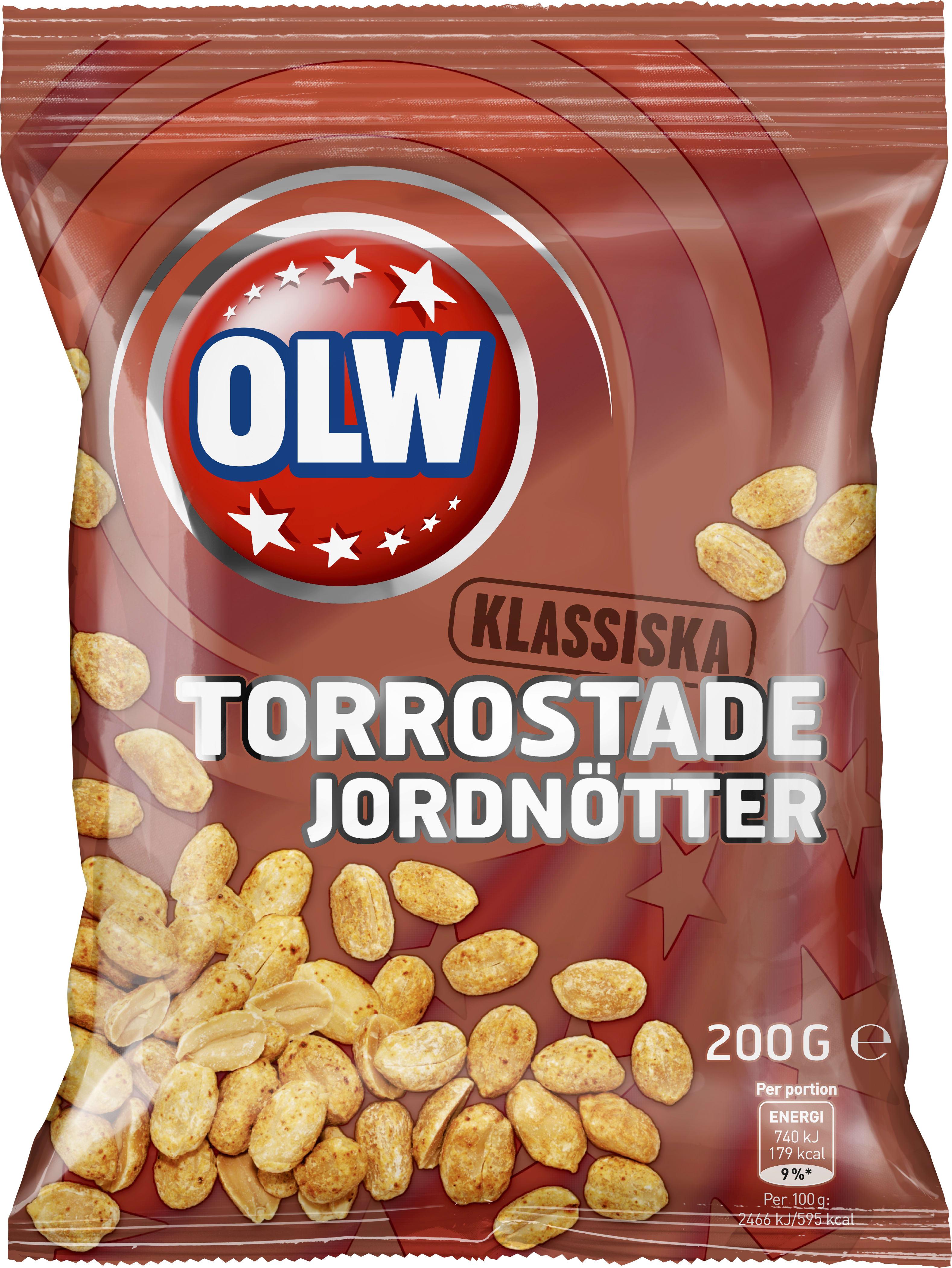 torrostade jordnötter nyttigt