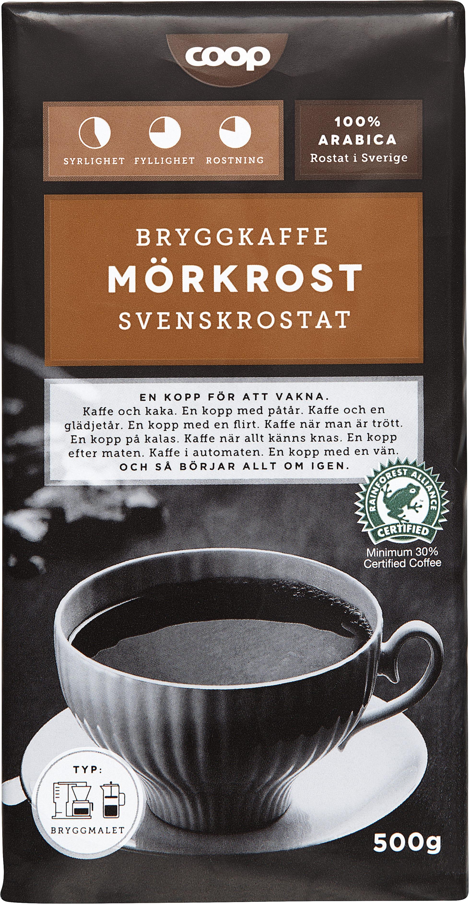 snabbkaffe vs bryggkaffe