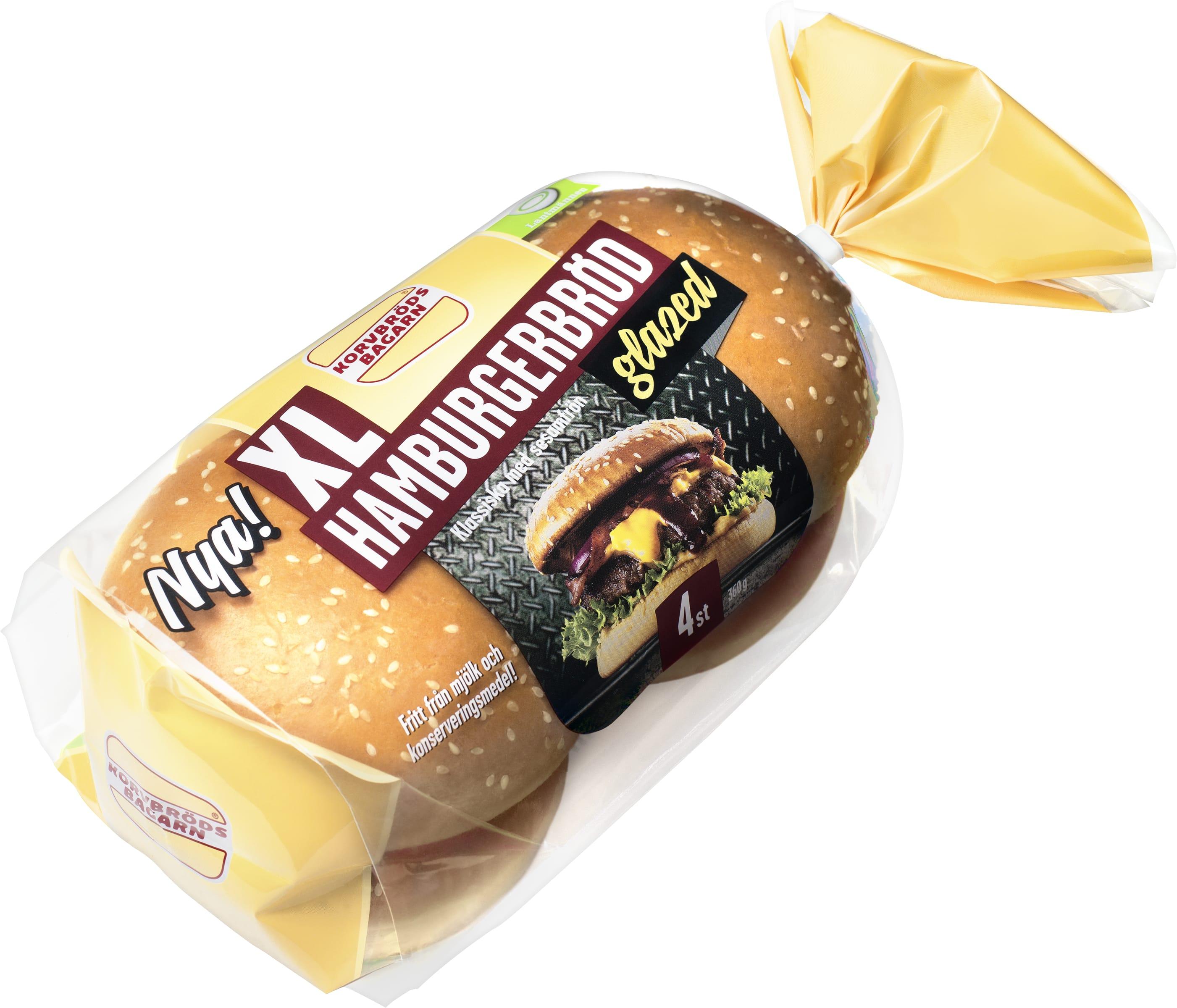 glutenfritt hamburgerbröd köpa