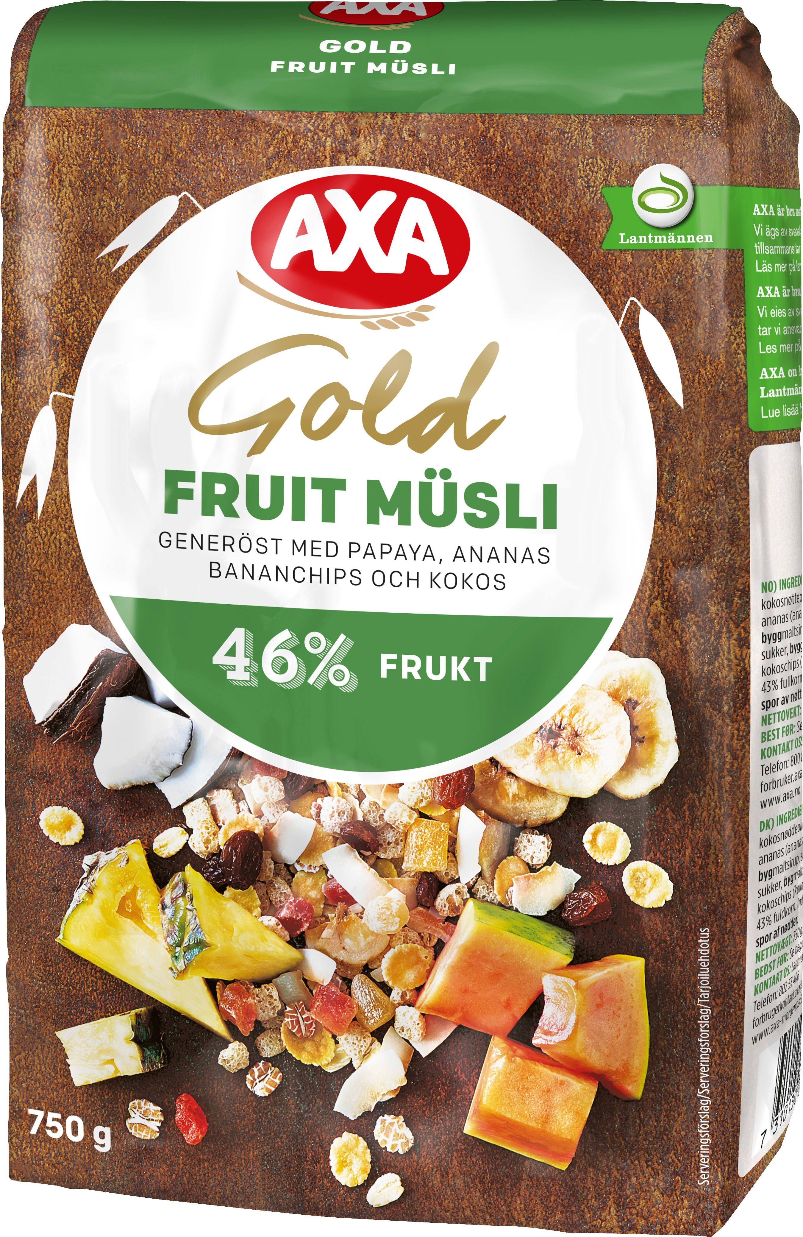 axa gold müsli original