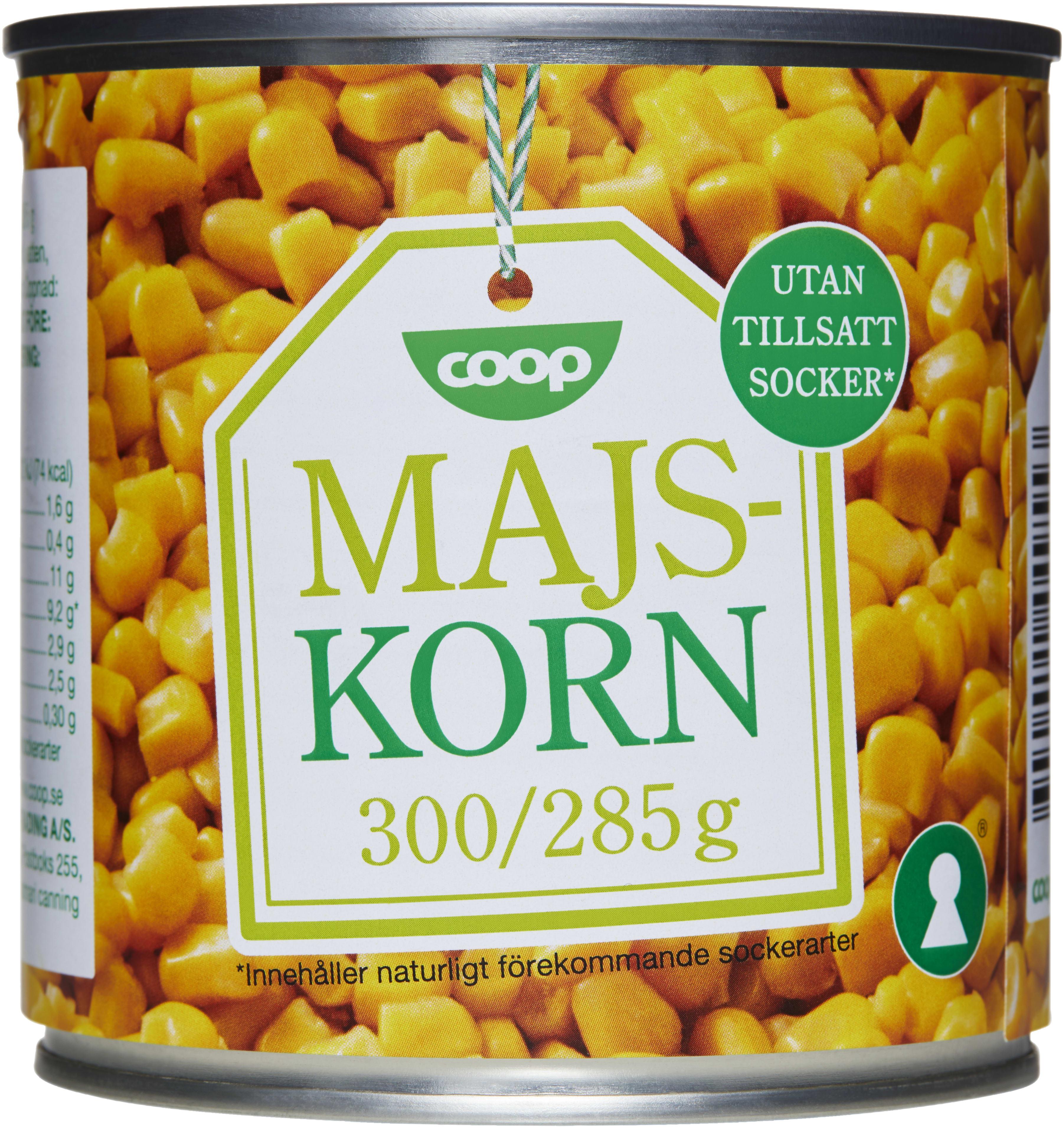 majs på burk