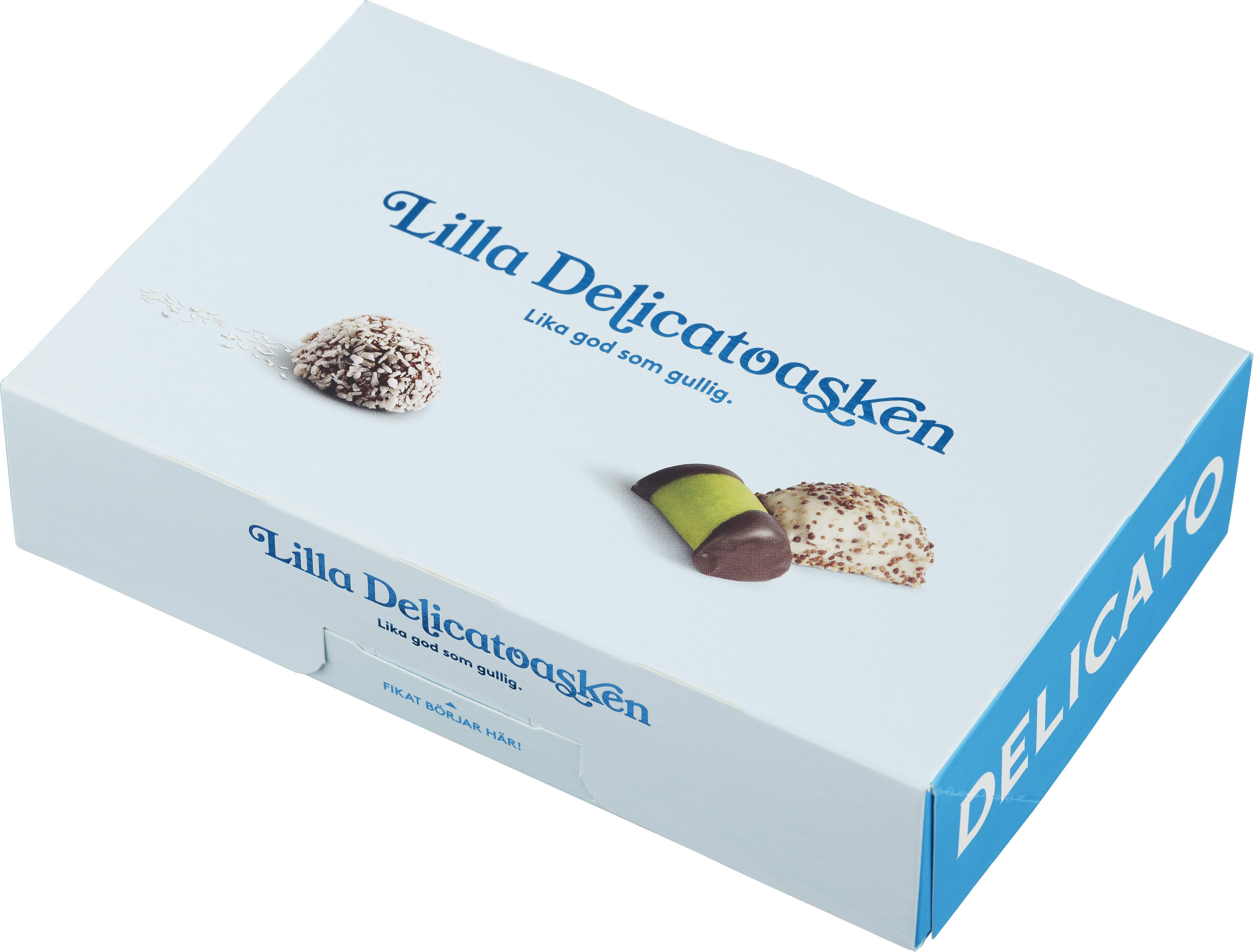 kalorier chokladboll delicato