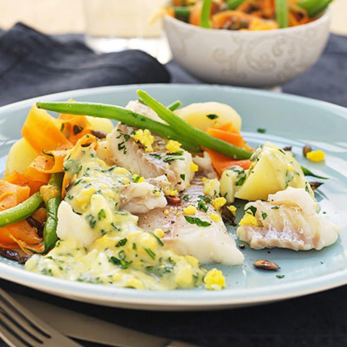 persiljesås till fisk
