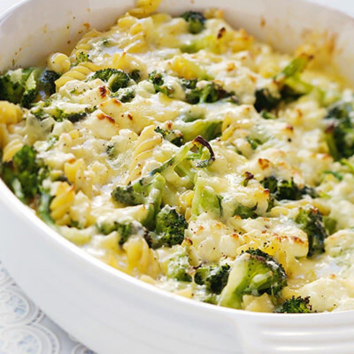 Pastagratang Med Broccoli Och Fetaost Coop