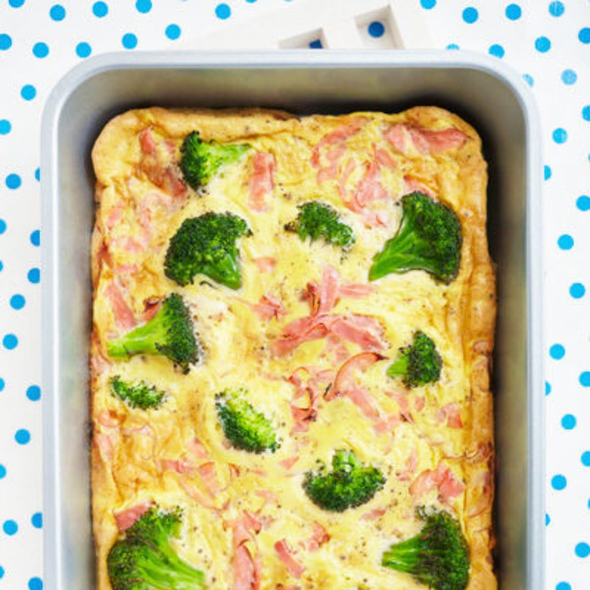 recept omelett ugn