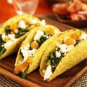 Tacos med linser och fårost