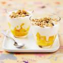 Yoghurt med mango och granola