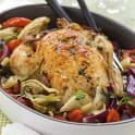 Tomat- och fänkålsfylld kyckling