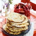 Knäckebröd med dillfrö och Västerbottensost
