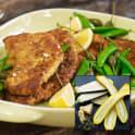 Parmesan- och pumpapanerad squash eller aubergine