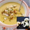 Blomkålssoppa med parmesanost