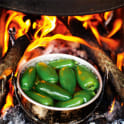 Grön chilisås