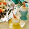 Äggröra med parmachips