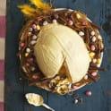 Påskens glasstårta