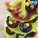 Fågelbon av choklad och cornflakes