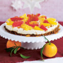 Vit chokladcheesecake med citrus