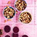 Tacorostade cashewnötter