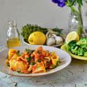 Pasta e fagioli (pasta med bönor)