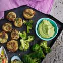 Bönröra med råstekt broccoli