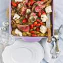 Lammracks med råstekt potatis