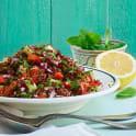 Tabbouleh på quinoa