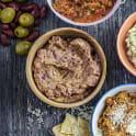 Bönröra med oliver och spiskummin