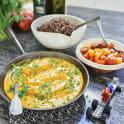 Kryddig quinoa med torsk i tomatsås