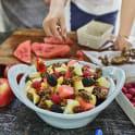 Alvins fruktsallad med crunch
