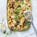 Lasagne med linser och zucchini