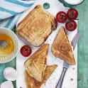 French toast i toastjärn