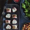 Rulle med skinka och ädelostkräm