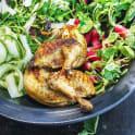 Grillad kyckling med parmesankräm