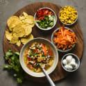 Köttfärssoppa tacostyle