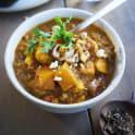 Indisk currygryta med pumpa